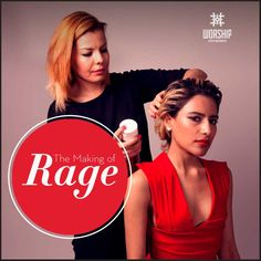 #TheMakingOfRage: Strong and powerful, this slick style is for those who know what they want. Unveiling this sinful style soon…