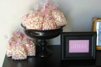 Shower Favors - May use white cheddar or caramel popcorn