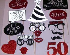 50e verjaardag foto Prop leven begint bij 50 fantastische 50