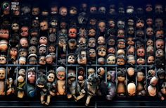 Etanis Gonzalez has a Wall Of Dolls in Venezuela
