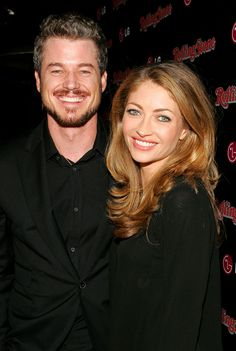 Eric Dane and his wife actress Rebecca Gayheart Odd Couples, Famous Couples, Couples In Love, Hollywood Couples, Hollywood Life, Eric Dane Wife, Celebrity Babies, Celebrity Couples, Rebecca Gayheart