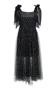 This **Delfi Collective** Elinor Tie Dress features a semi sheer skirt with shoulder tie details. Event Dresses, Nice Dresses, Short Dresses, Formal Dresses, Beautiful Dresses, Sheer Dress, Tie Dress, Dress Up, Runway Fashion