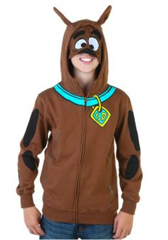 Amazon.com: Kids Scooby Doo Costume Hoodie (Size 8): Clothing