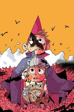 Almost forgot to post about the Subscription Cover i did for Over The Garden Wal. Almost forgot to Garden Wall Art, Over The Garden Wall, Fan Art, Dark Fantasy, Gravity Falls, Character Art, Character Design, Walled Garden, Animation