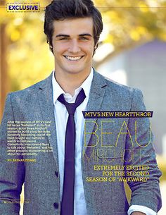 Beau Mirchoff super hot but where did he come from? I haven't seen him anywhere till now
