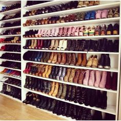 Wall of shoes=❤