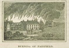 8 July 1779 - Fairfield, Connecticut, is burned by British - Three days later, the British burn Norwalk, Connecticut.