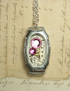 etsy seller inspiredbyelizabethhttp://www.etsy.com/listing/76358882/steampunk-necklace-steam-punk-jewelry?ref=af_new_item