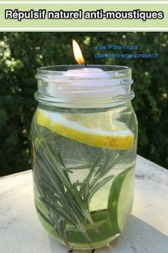 Remedies Natural All-natural Mason Jar Mosquito Repellant. Non-toxic, No DEET. - For an all-natural way to get mosquitos off the guest list at your next outdoor gathering, try this simple Mosquito Repellant Mason Jar.