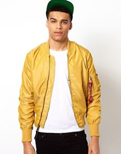 Image 1 of Alpha Industries MA1 Bomber Jacket