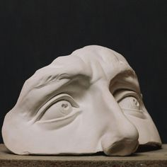 Sculpture Head, Plaster Sculpture, Clay Sculptures, Anatomy Sculpture, Sculpting Tutorials, Anatomy Poses, Clay Art Projects, Digital Painting Tutorials, Ap Art
