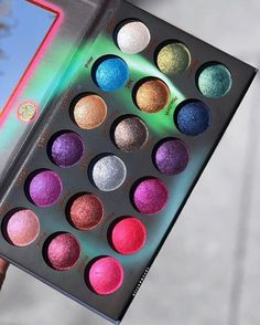 NEW EYESHADOWS! @bhcosmetics launched their new Aurora Lights Eyeshadow Palette today! 18 shades for $18! #makeupaddicts #bbloggers #beauty #instamakeup #instabeauty #beautiful #beautyaddict #mua #makeupart #newrelease #makeupfomo