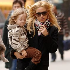 Kate Hudson and Ryder Robinson Mommy and Me Style