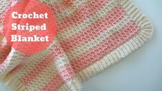 En Kolay Çizgili Bebek Battaniyesi / Örgü Modelleri The Effective Pictures We Offer You About Crochet sweater A quality picture can tell you many things. Crochet Blanket Tutorial, Striped Crochet Blanket, Baby Afghan Crochet, Manta Crochet, Crochet Blanket Patterns, Crochet Blankets, Baby Car Seat Blanket, Baby Blankets, Yarn Bee