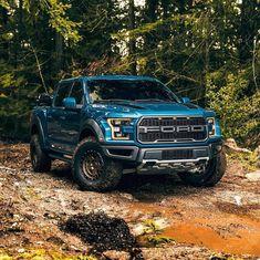 Ford Raptor Truck, Ford Ranger Raptor, Ford Pickup Trucks, Car Ford, Chevy Trucks, Overland Truck, Bike Pic, Dream Cars, Raptors