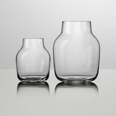 Silent Vase von Muuto in Grau