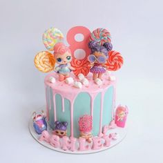 Another LOL surprise dolls cake Hello monday ! Another LOL surprise dolls cake Doll Birthday Cake, Funny Birthday Cakes, Birthday Ideas, 6th Birthday Parties, 8th Birthday, Lol Doll Cake, Barbie Cake, Surprise Cake, Lol Dolls