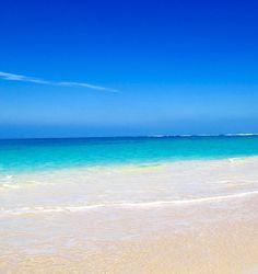 Beach vibes #paradise #hawaii #beach #tropical #sand #ocean #horizon