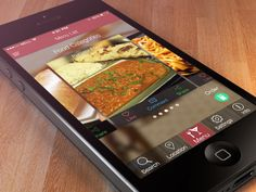 Restaurant apps Food Categories, Ios, Projects To Try, Restaurant, Restaurants, Dining Room