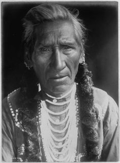 Flathead Man | Edward Curtis 1910