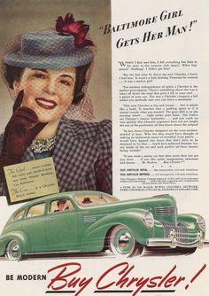 1939 Chrysler Royal Sedan