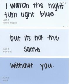 Aaw, this is clever.  Vanilla Twilight - Owl City <3