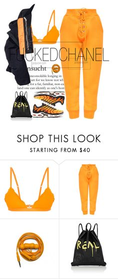 """""""SEC"""" by fuckedchanel ❤ liked on Polyvore featuring Beach Riot, Urbanears and Gucci"""