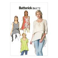 Butterick Pattern B6172 Misses' Top and Tunic-6-8-10-12-14 | Jo-Ann