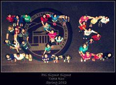 Theta Rho chapter of Phi Sigma Sigma. ♥ ♥