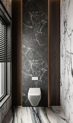 Washroom Design, Toilet Design, Bathroom Design Luxury, Bathroom Design Small, Modern Bathroom, Contemporary Interior Design, Home Interior Design, Minimalist Toilets, Interior Design Presentation