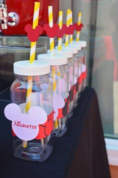 Mickey Mouse themed 1st birthday party via Kara's Party Ideas | KarasPartyIdeas.com (21)