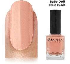 Barielle Nail Color Baby Doll $8 buy now at StimulatingBeauty.com