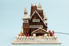 Christmas is nigh, the festive season in Northern Europe is a real celebration, and the Swedish Centre for Architecture and Design (ArkDes) has organised a new edition of the gingerbread house contest. A great combination of traditions and architecture. #Architecture #Design