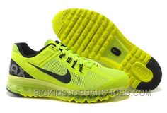 Cheap Nike Free US Size for Sale Mens Nike Air Max 2013 Volt Black Shoes [nike free for sale - All Nike Shoes, Discount Nike Shoes, Nike Shoes Cheap, Nike Free Shoes, Nike Shoes Outlet, Black Running Shoes, Kid Shoes, Black Shoes, Cheap Nike
