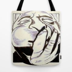 "Jazz has always been my music of choice but more so when life seem impossible as my tempest tried to still my soul. Thanks Dizzy it was fun seeing your jaws expand way past crazy!..Tote Bag  / 16"" x 16""    Christa Bethune Smith, Cabsink09 (cabsink09)  Dizzy Jazz by Christa Bethune Smith, Cabsink09  	 . $22.00"
