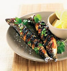 Moroccan grilled sardines recipe #food #fish #morocco