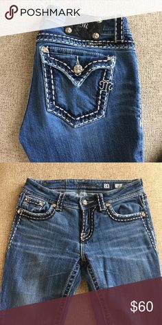 MISS ME jeans! Size 28 and super cute!! Size 28, Bootcut! Miss Me Jeans Boot Cut