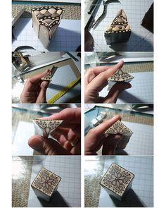 polymer clay tutorial. kaleidoscope cane. almudena.