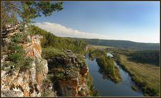 Река Юрюзань. Южный Урал.
