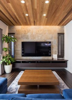 45 Modern Home Entertainment Centers That Will Inspired Everyone dreams have their own home entertainment center, this is the largest and most important furniture are usually located in the living room or family room Japan Interior, Japanese Interior Design, Living Room Tv Unit, Living Room Decor, Home Design, Design Ideas, Modern Tv Wall Units, Home Entertainment Centers, Tv Wall Design
