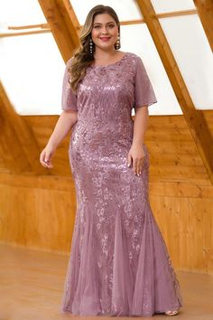 Mermaid Evening Dresses Plus Size Ever Pretty Sequined Short Sleeve O Neck Sexy Formal Dresses Evening Party Gowns Lange Jurken Sexy Formal Dresses, Affordable Prom Dresses, Evening Dresses Plus Size, Cheap Evening Dresses, Mermaid Evening Dresses, Prom Dresses Online, Homecoming Dresses, Plus Size Dresses, Dress Online