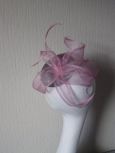 Fascinator  smartie base design trimmed with by Fascinatinggeorgie, £55.00