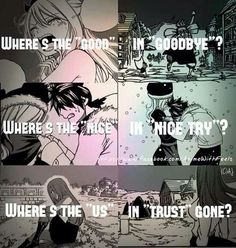 Fairy Tail quote