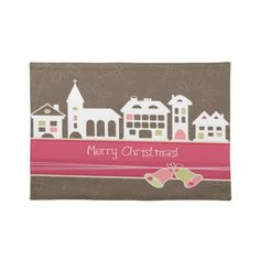Merry Christmas Individual Placemats/