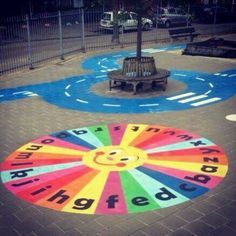 Image result for painting ideas for playgrounds