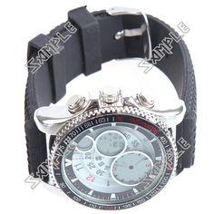 Analog & Digital Display Stainless Steel Quartz Wristwatch Watch with Stopwatch Alarm Clock Low Price Watches, Breitling, Alarm Clock, Quartz, Stainless Steel, Display, Digital, Accessories, Projection Alarm Clock