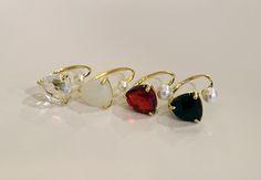[바보사랑] 심플하지만 포인트로 딱! /주얼리/반지/악세서리/패션주얼리/진주/선물/핸드메이드/커스텀/Jewelry/Ring/Accessories/Fashion/Pearl/ Gift/Handmade/Custom Jewelry