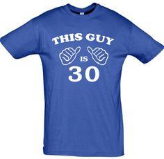 This guy is 30any yearmen t shirt30th birthday gift by TeeShirts24, €9.60