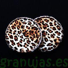Discos lactancia artesanales lavables Granujas