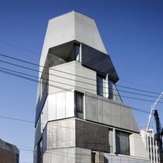 Tapered office building in Seoul avoids  overshadowing its neighbours